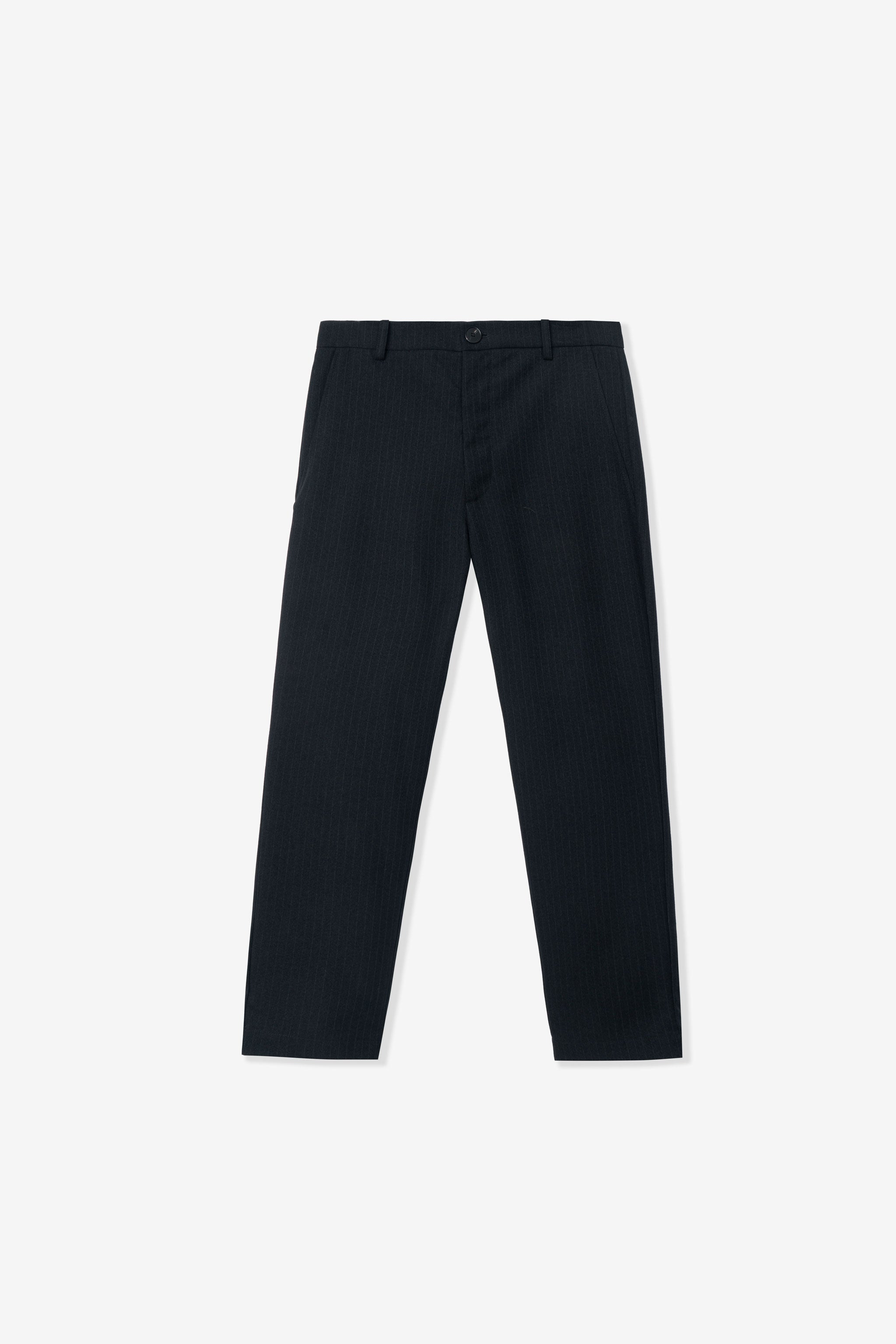 Goodfight Junction Trouser Black Pinstripe