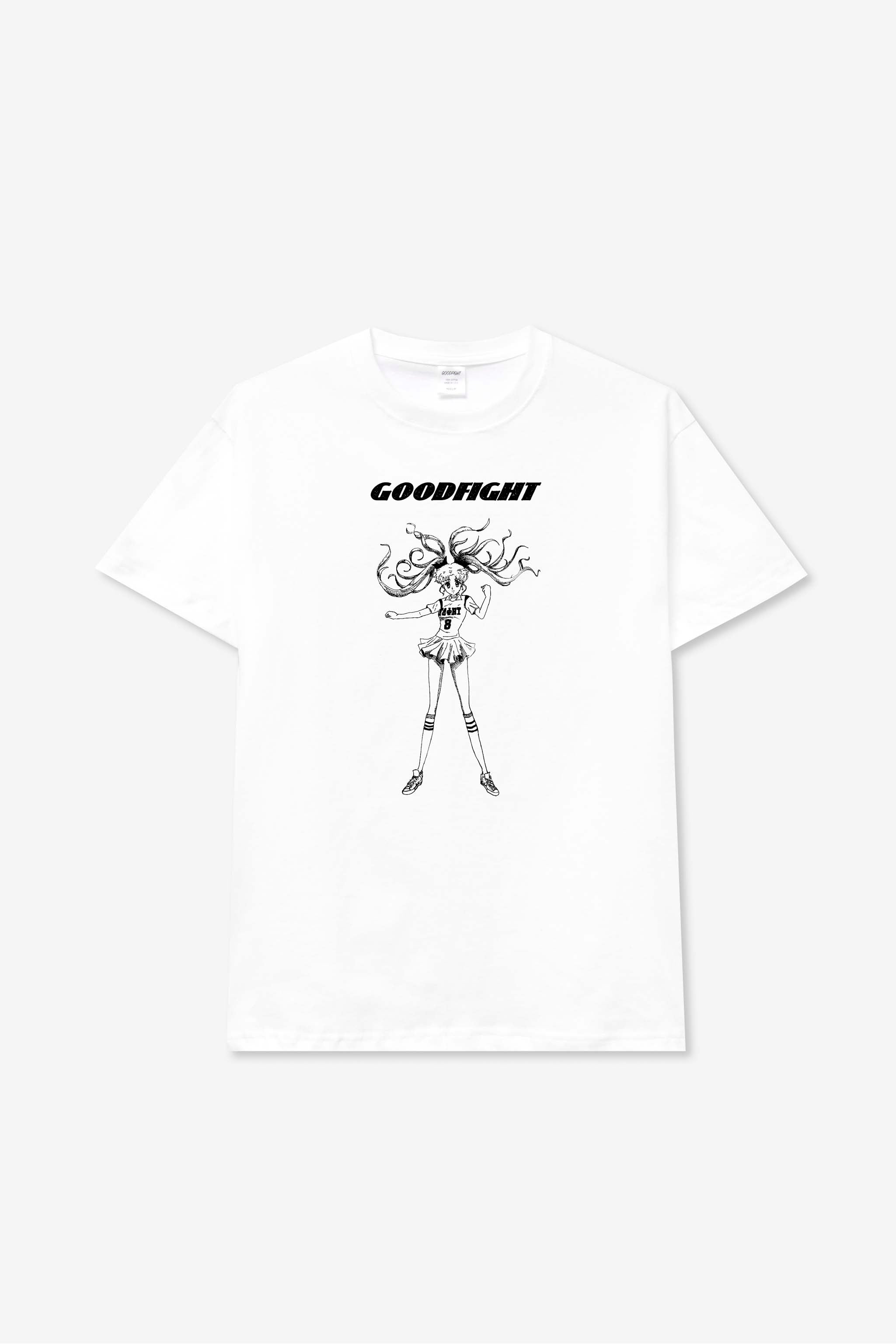 Goodfight Power Tee White