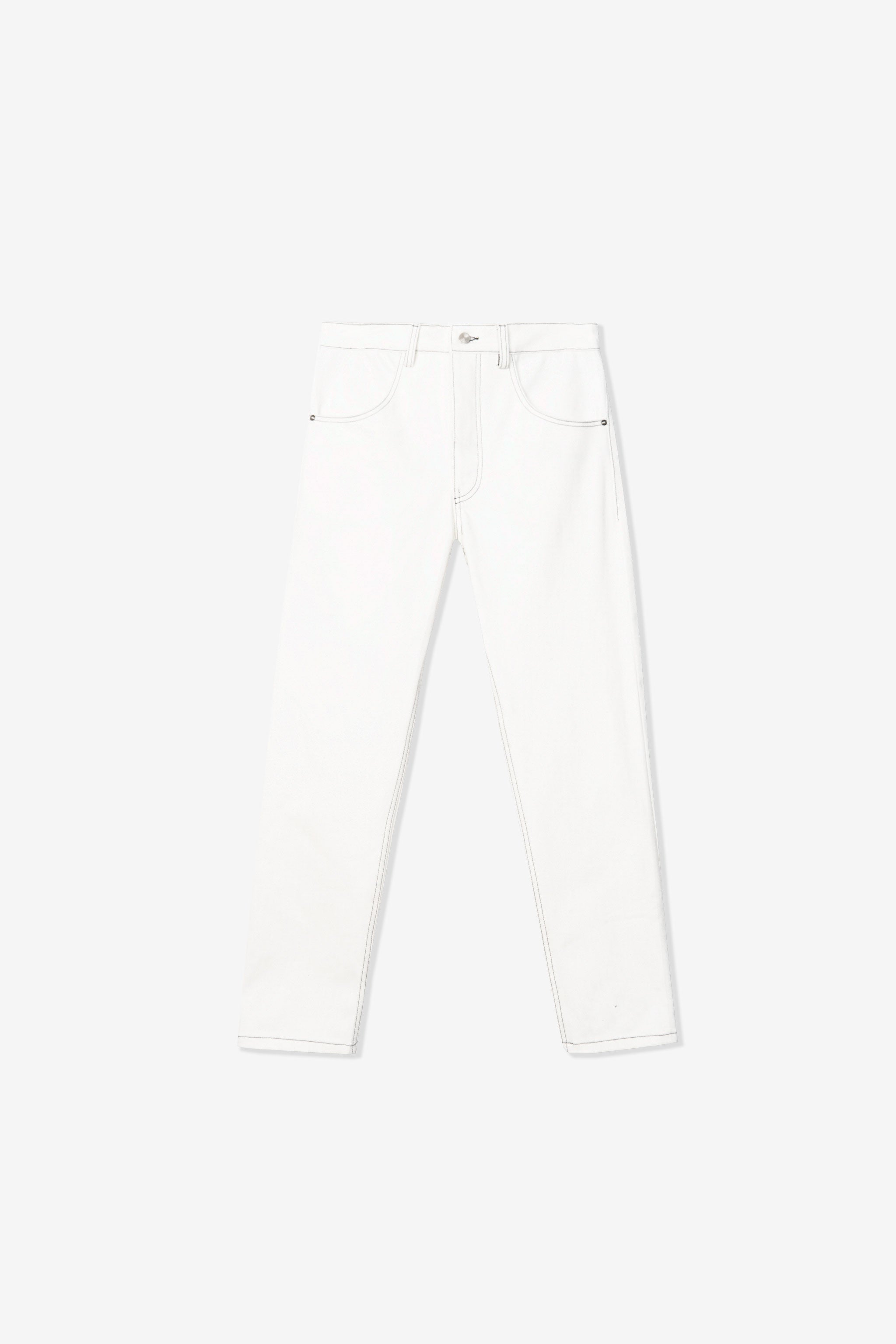 Rita Taper Jean - Deadstock White Goodfight Exclusive