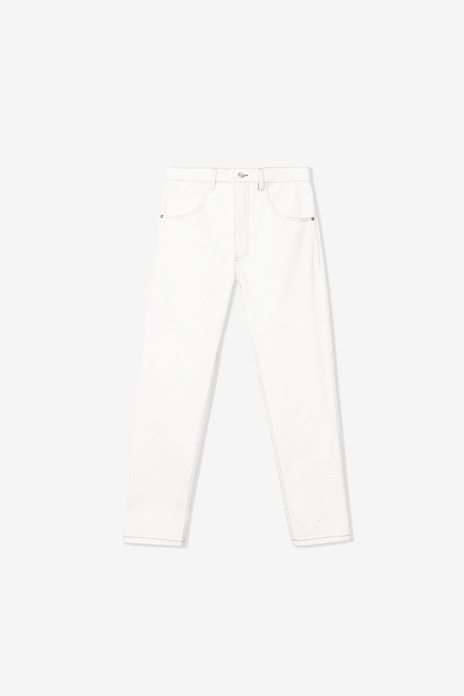 Rita Taper Jeans — Deadstock White Goodfight Exclusive