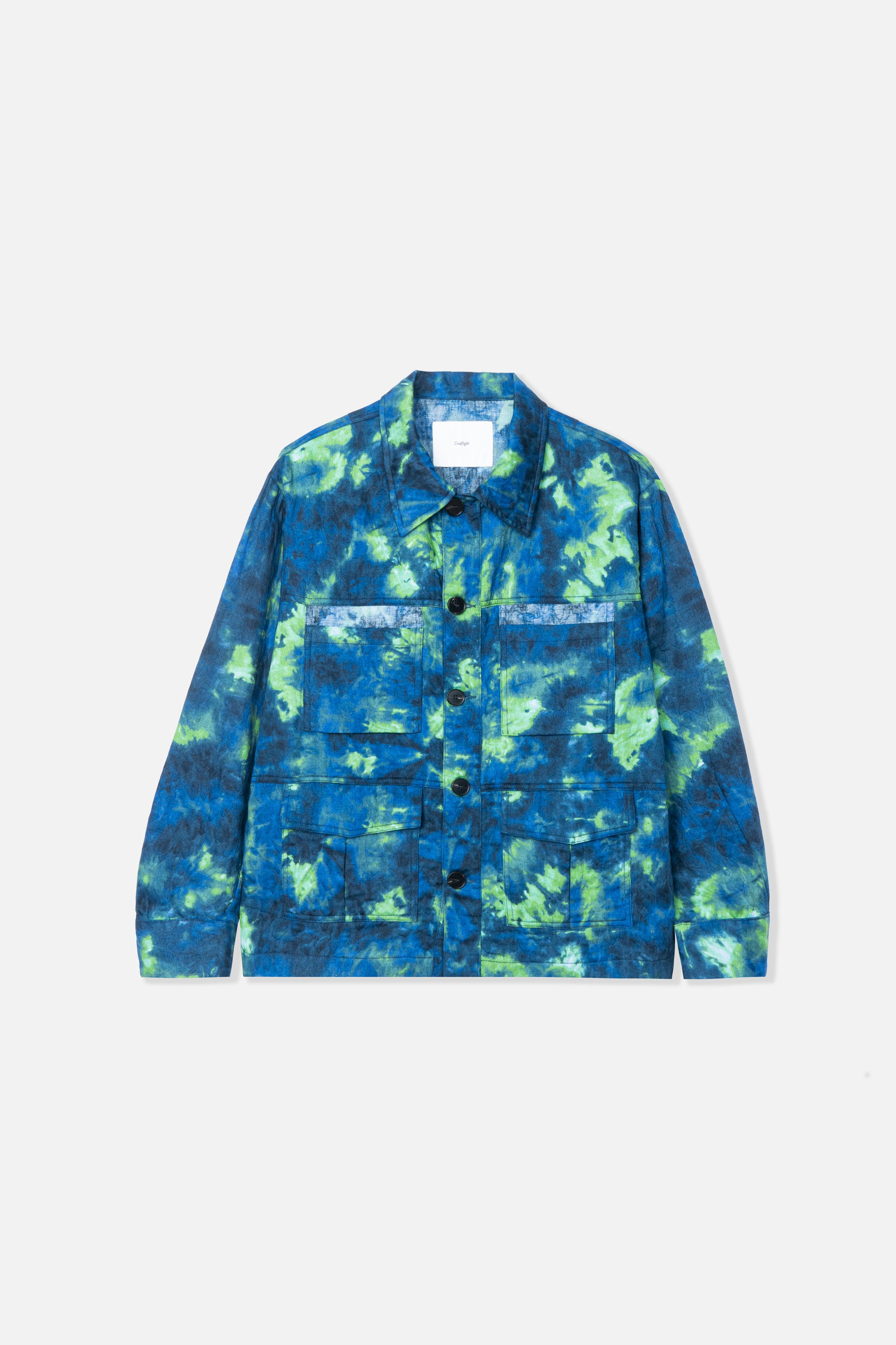 Goodfight Triptech BDU Jacket Blue Camo