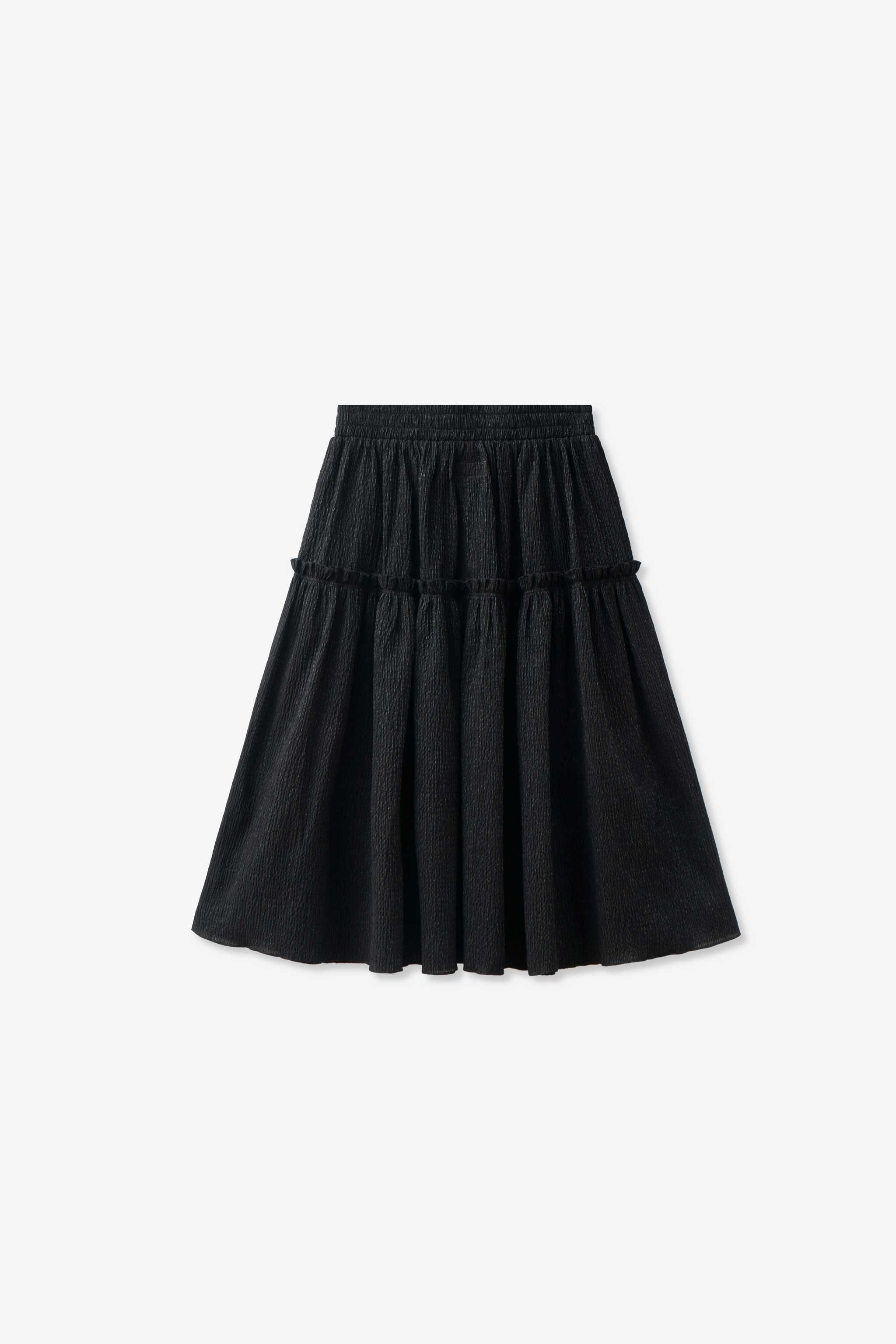 Goodfight Wanda Skirt Salvage Program Black Tinsel