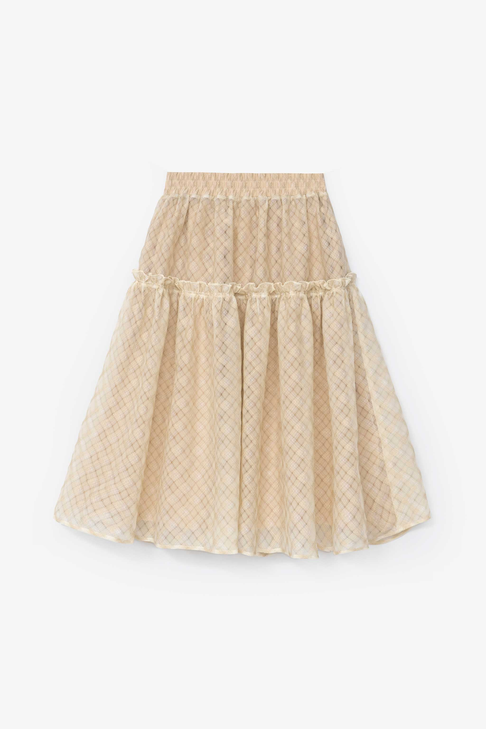 Wanda Skirt Salvage Program Cream