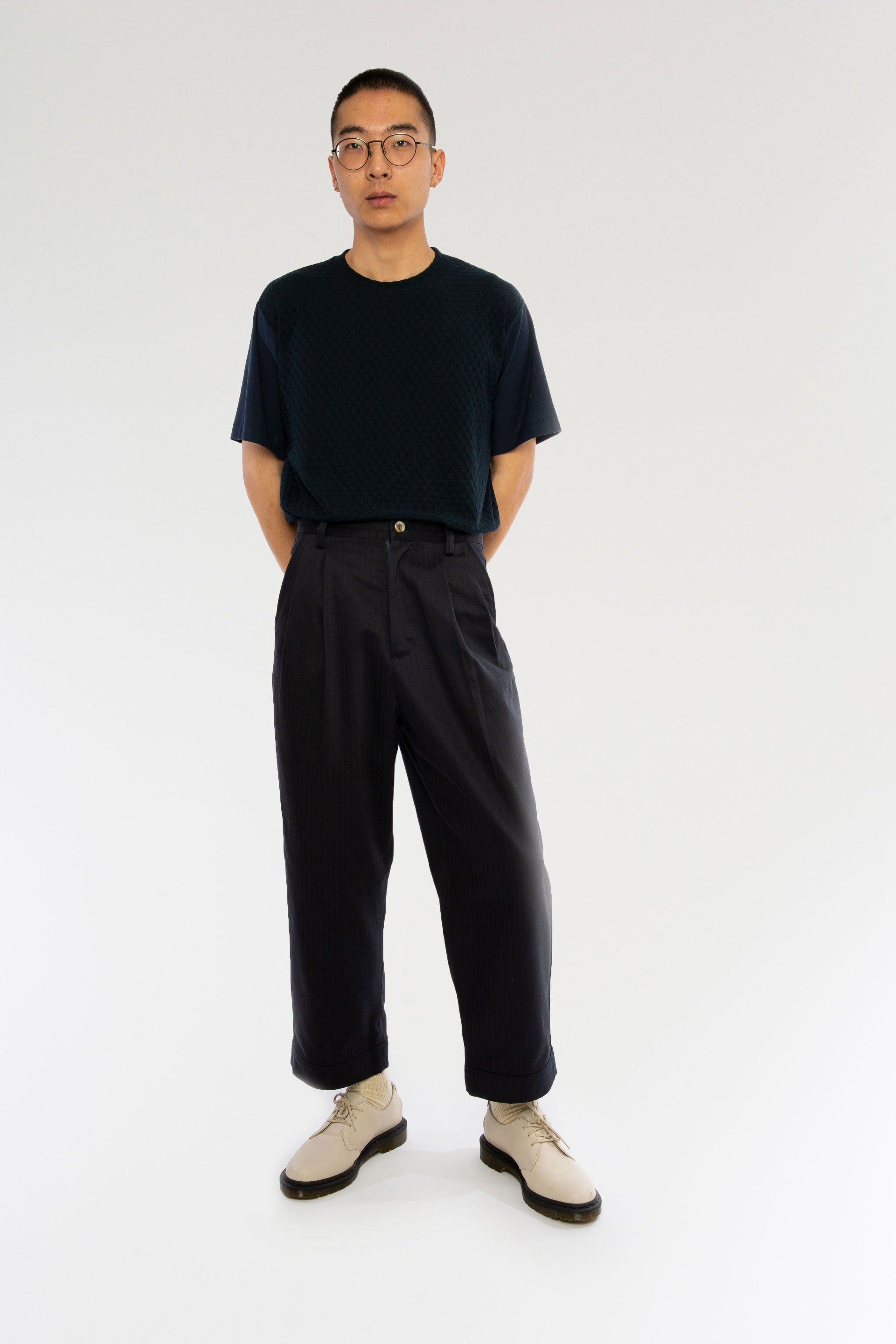 Goodfight SS19 Application Trouser Navy