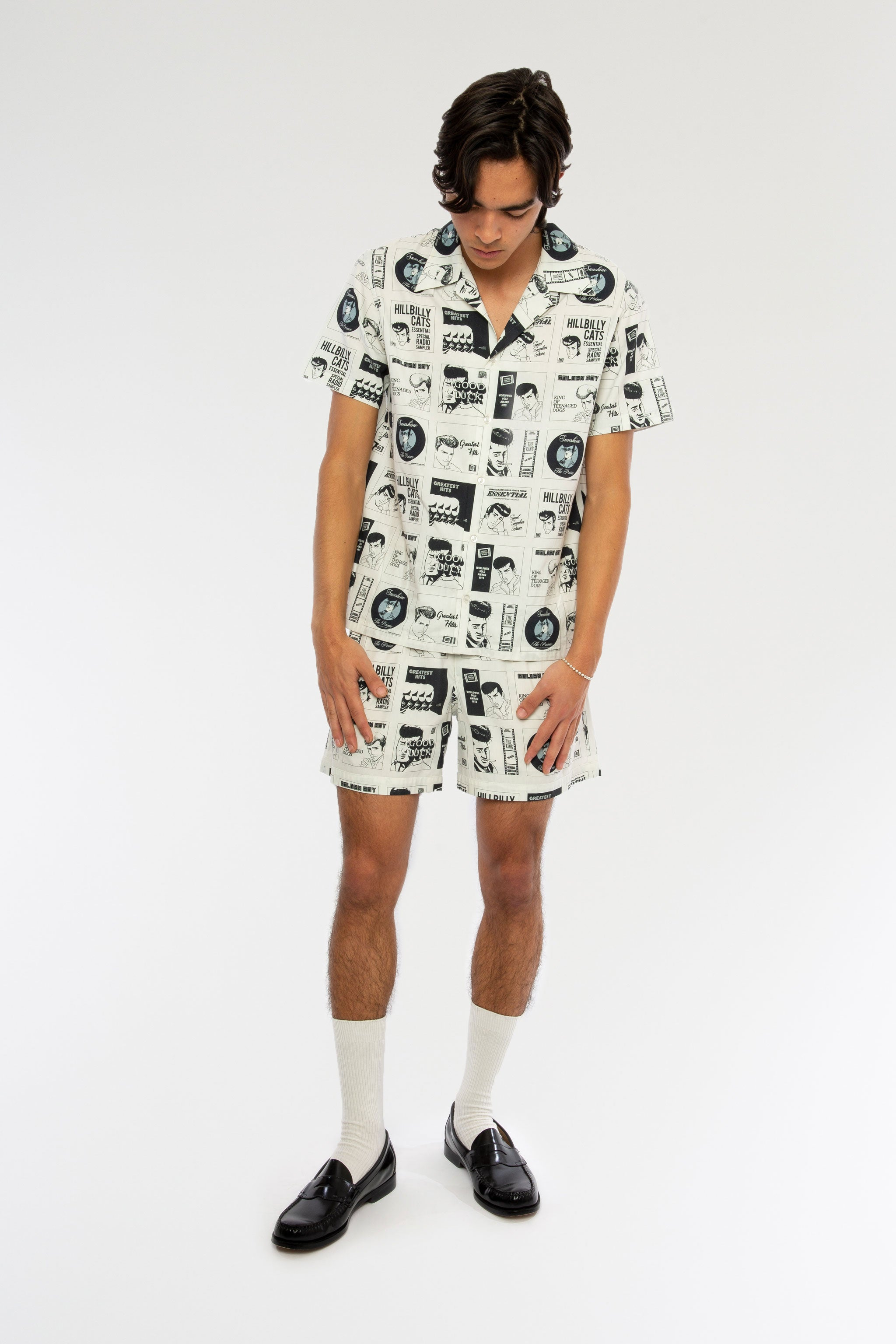 Goodfight SS19 Basic Short Manga Print