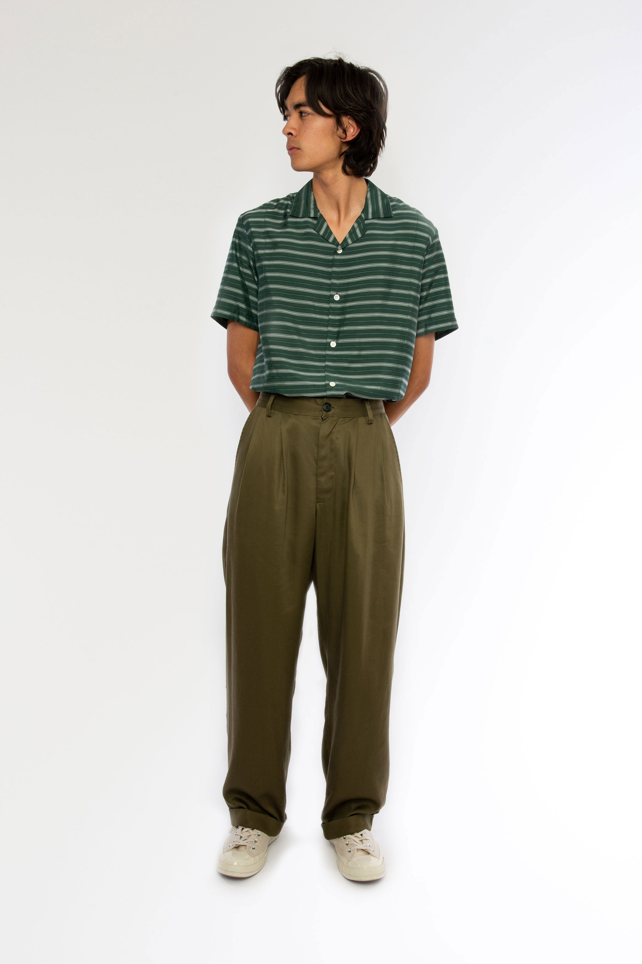 Goodfight SS19 Blazing Sundays Trouser Olive