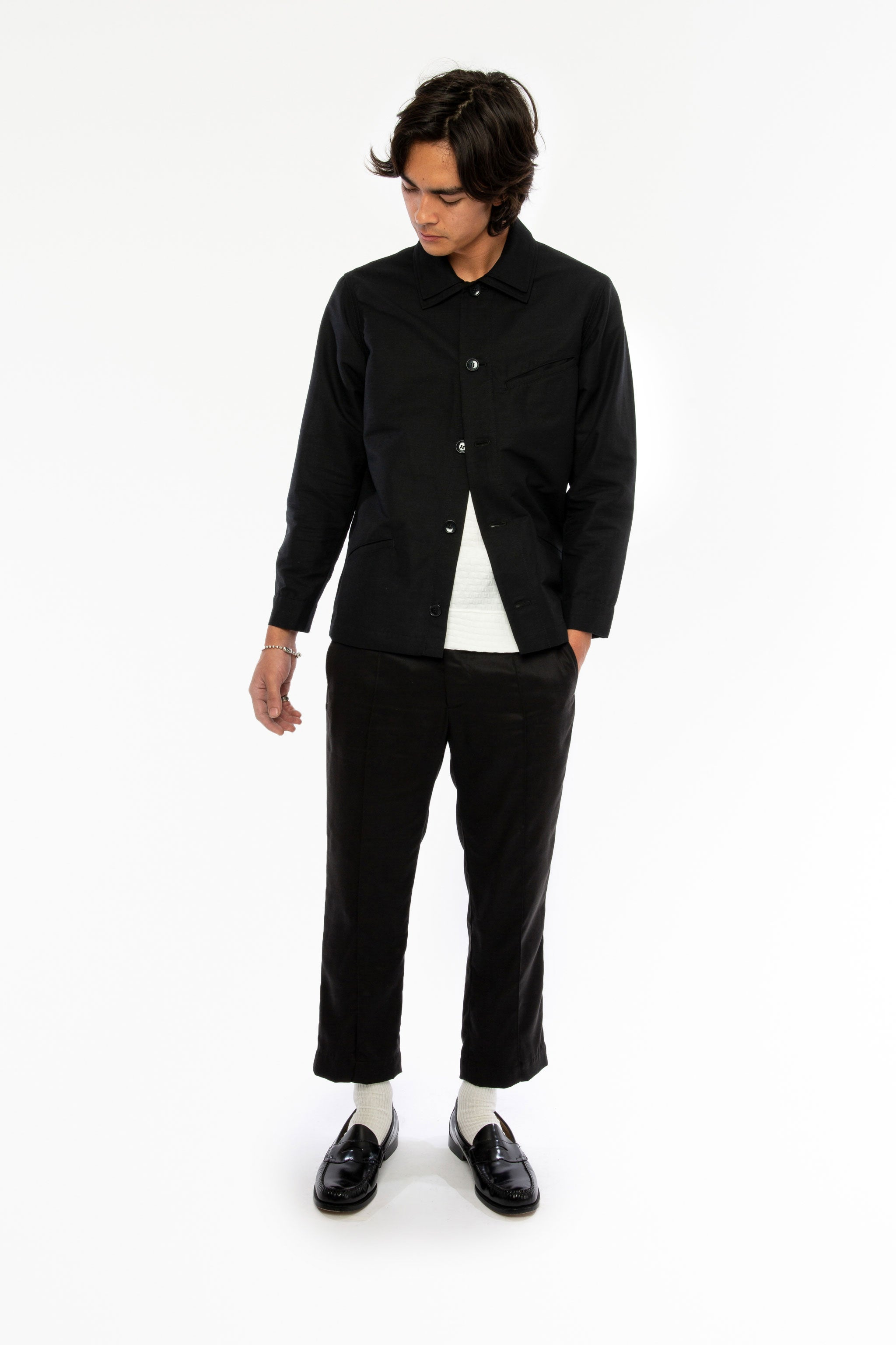 Goodfight SS19 Campus jacket Black