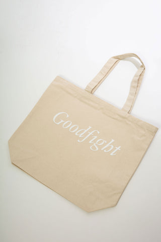 Large Canvas Tote - Flock Letter