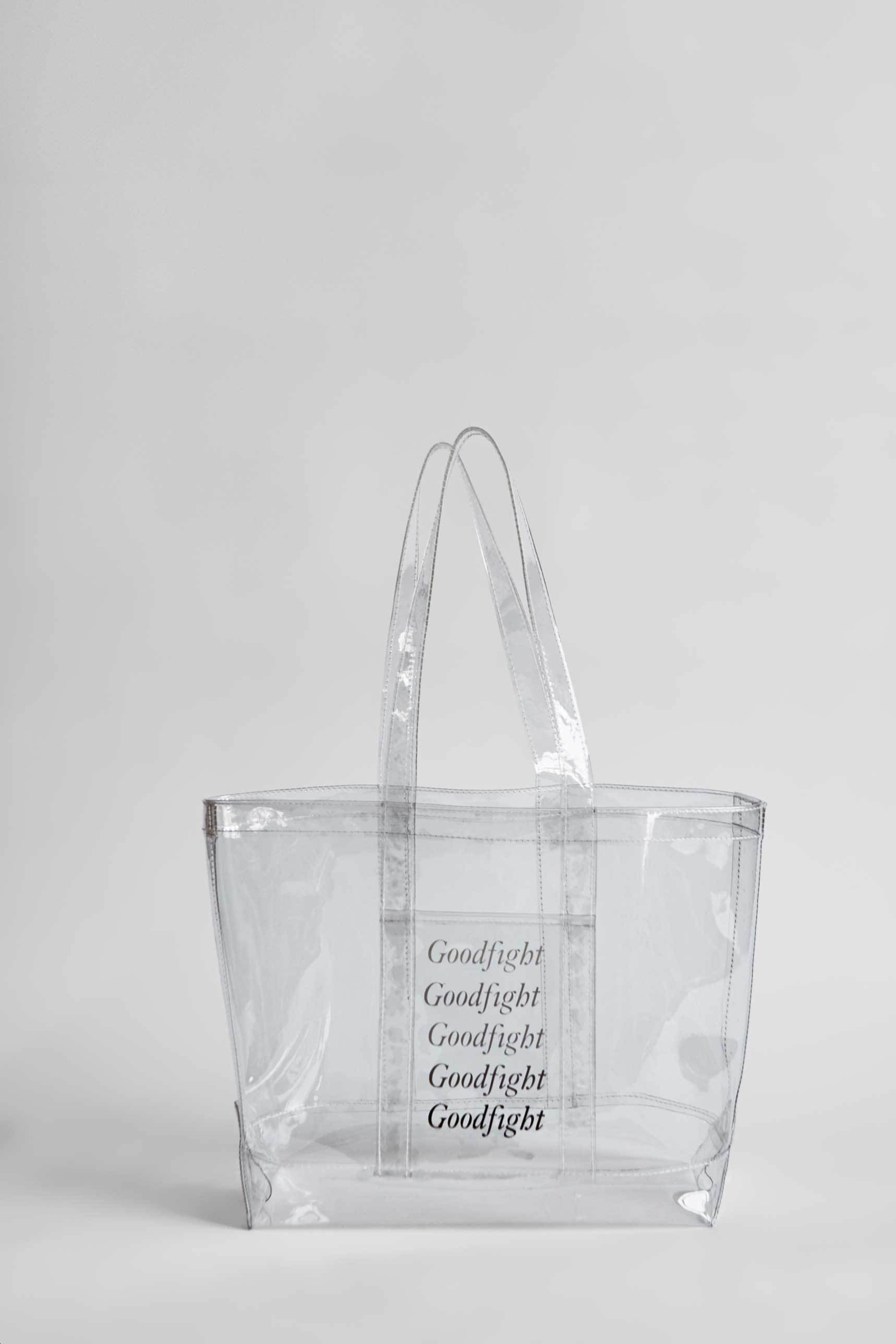 Goodfight Double Pane Tote Bag Clear