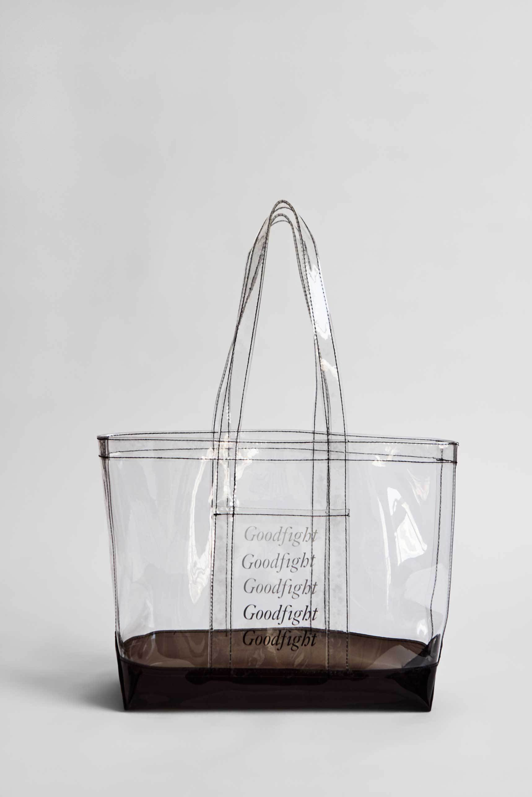 Goodfight Double Pane Tote Bag Smoke