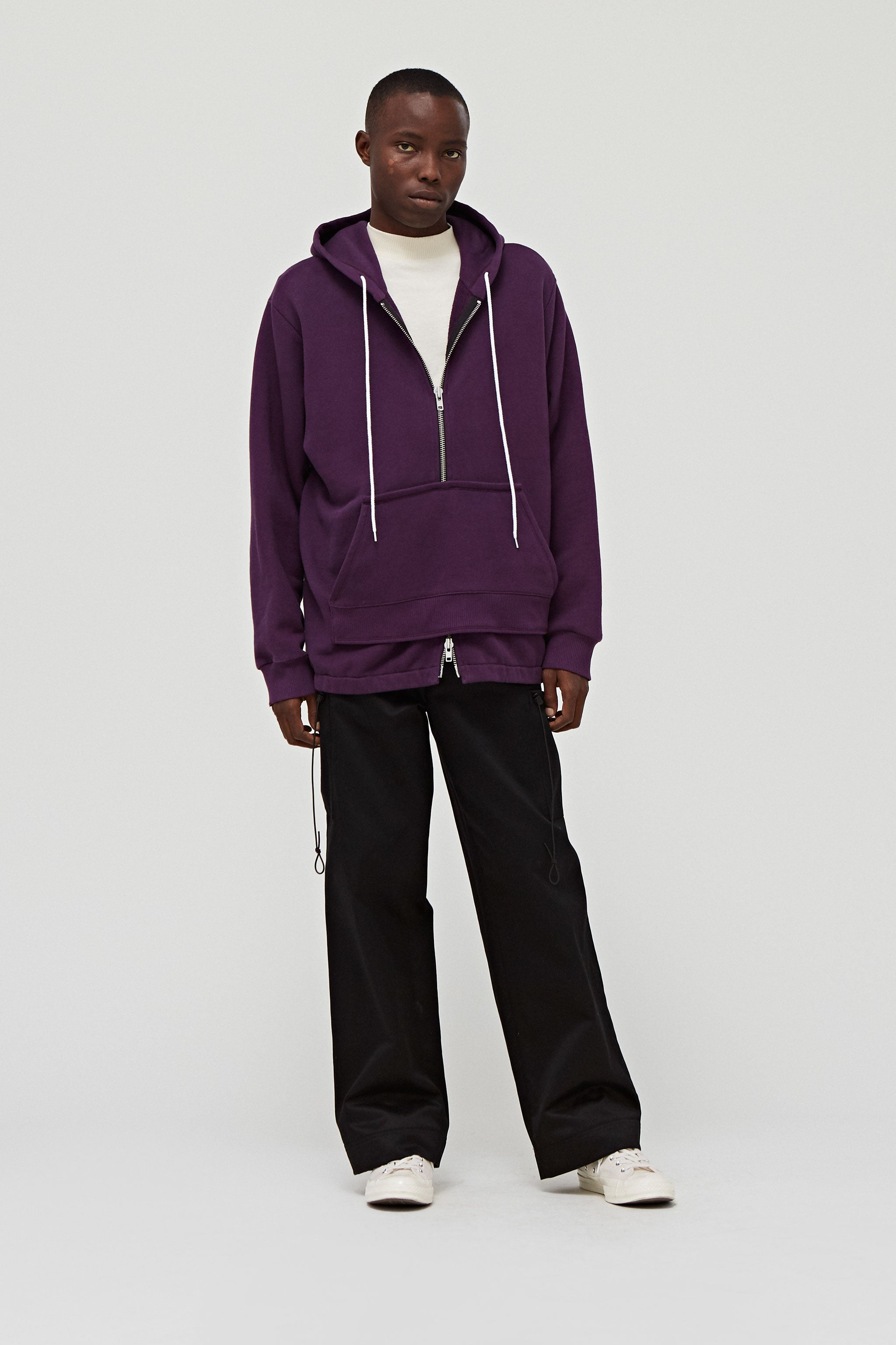 Goodfight FW18 Falsetto Pullover Hoodie Grape