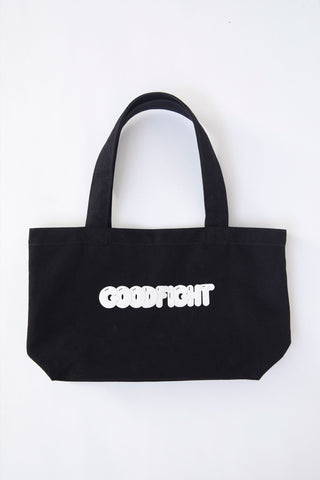 Goodfight Small Canvas Tote - Puff Print