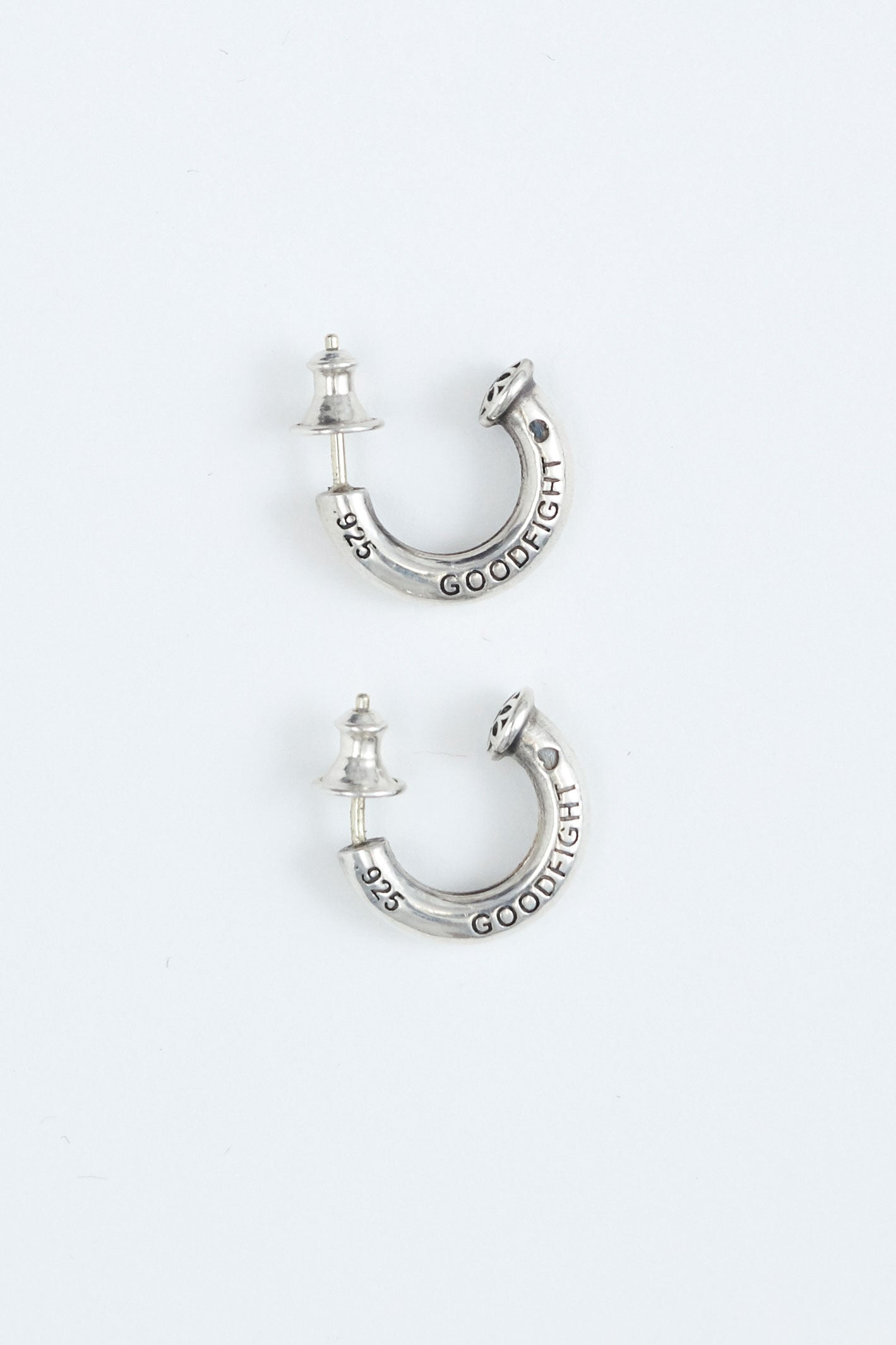 Good Art Hlywd for Goodfight 925 Earring Hoop