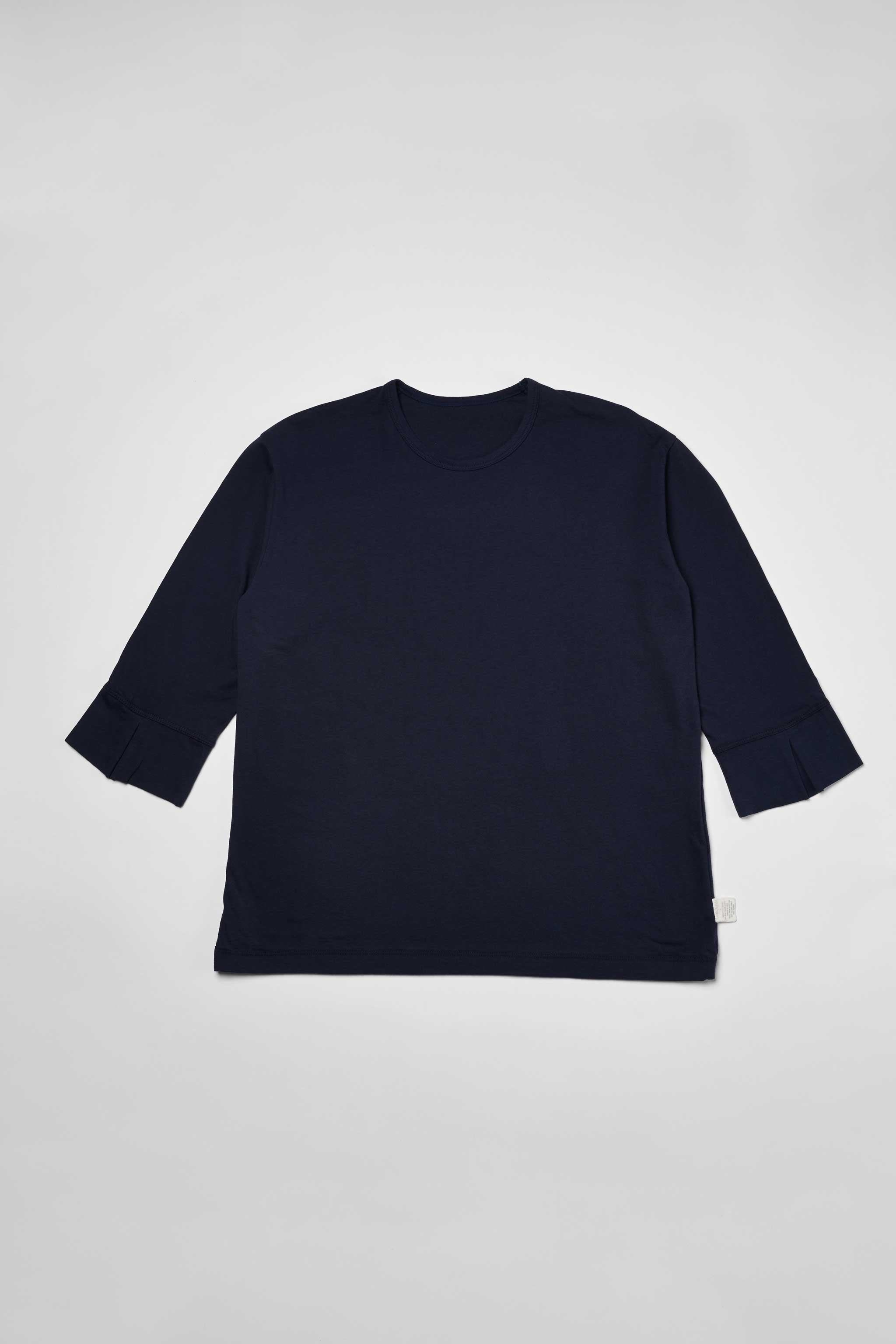 Goodfight 3-4 Sleeve False Cuff Tee Navy
