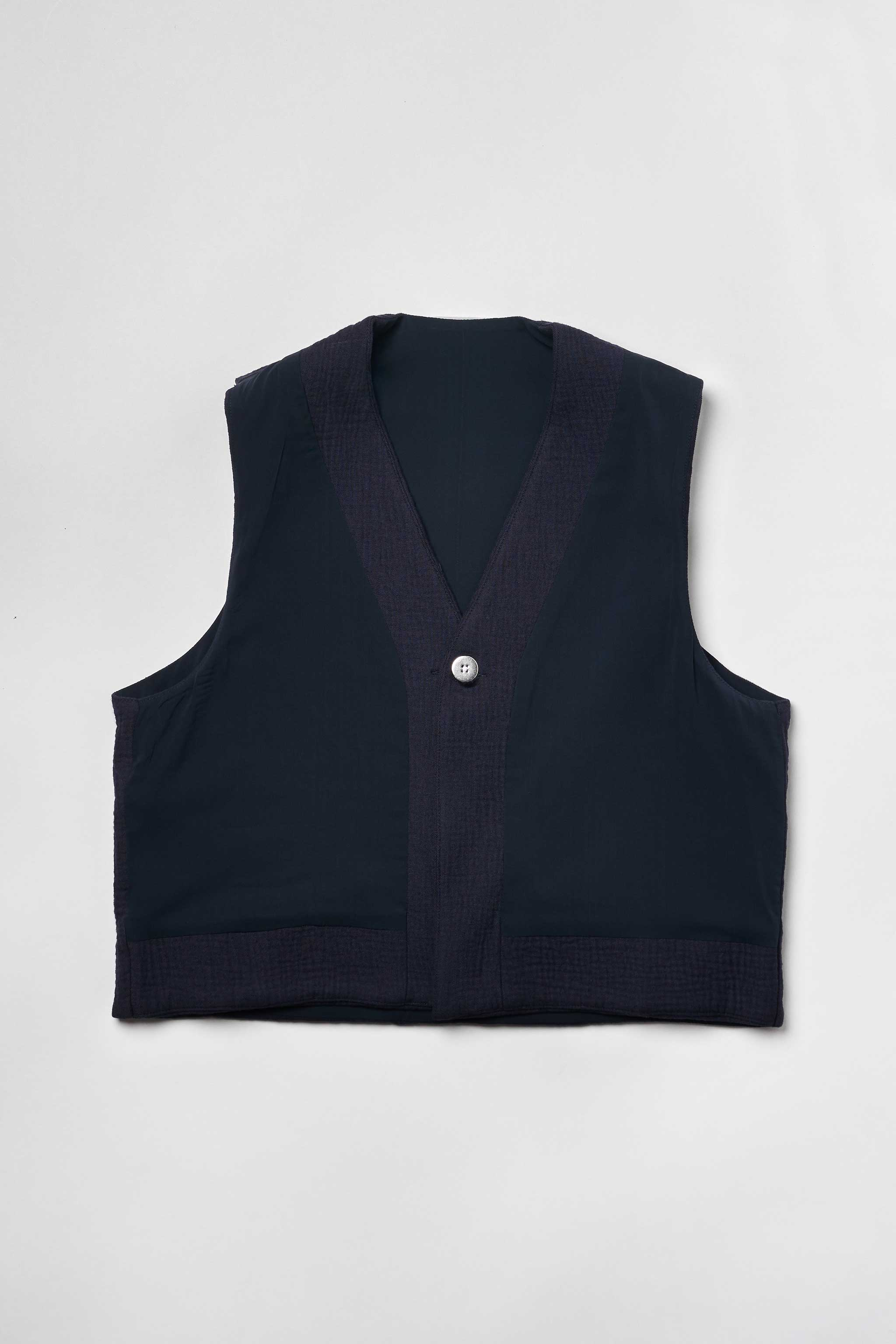 Goodfight All Access Vest Navy Reversible