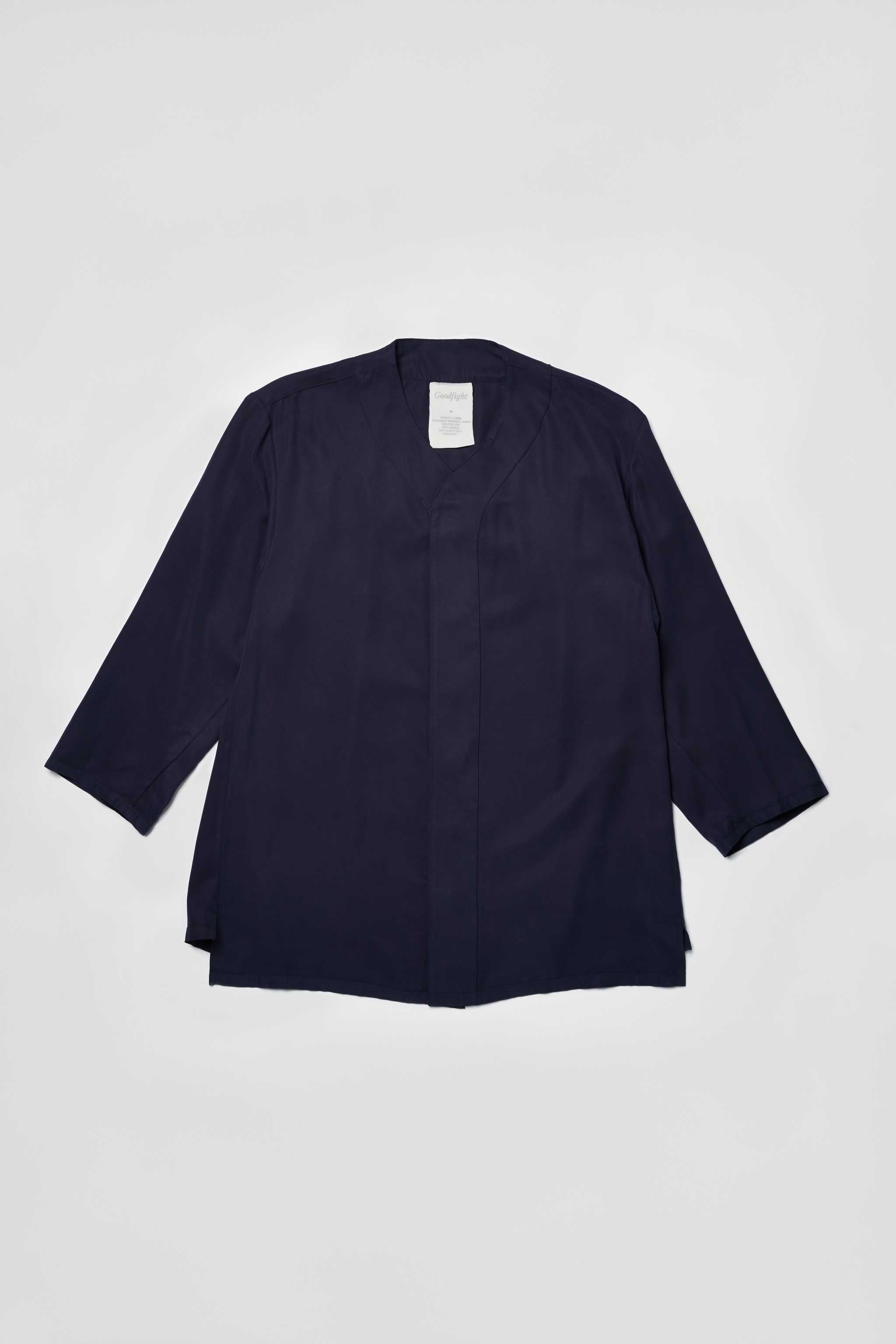 Goodfight Moonshot Baseball Shirt Navy