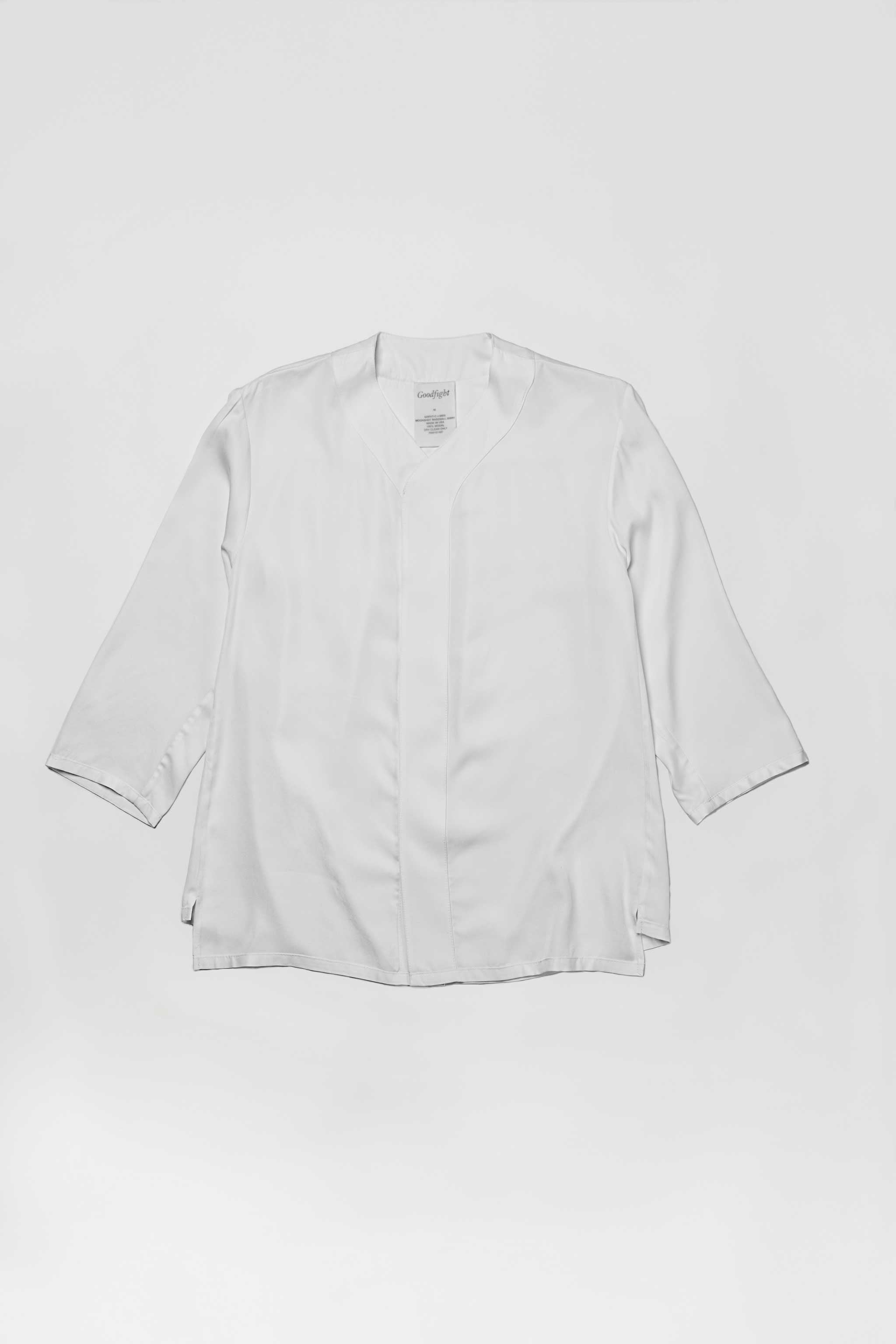 Goodfight Moonshot Baseball Shirt White