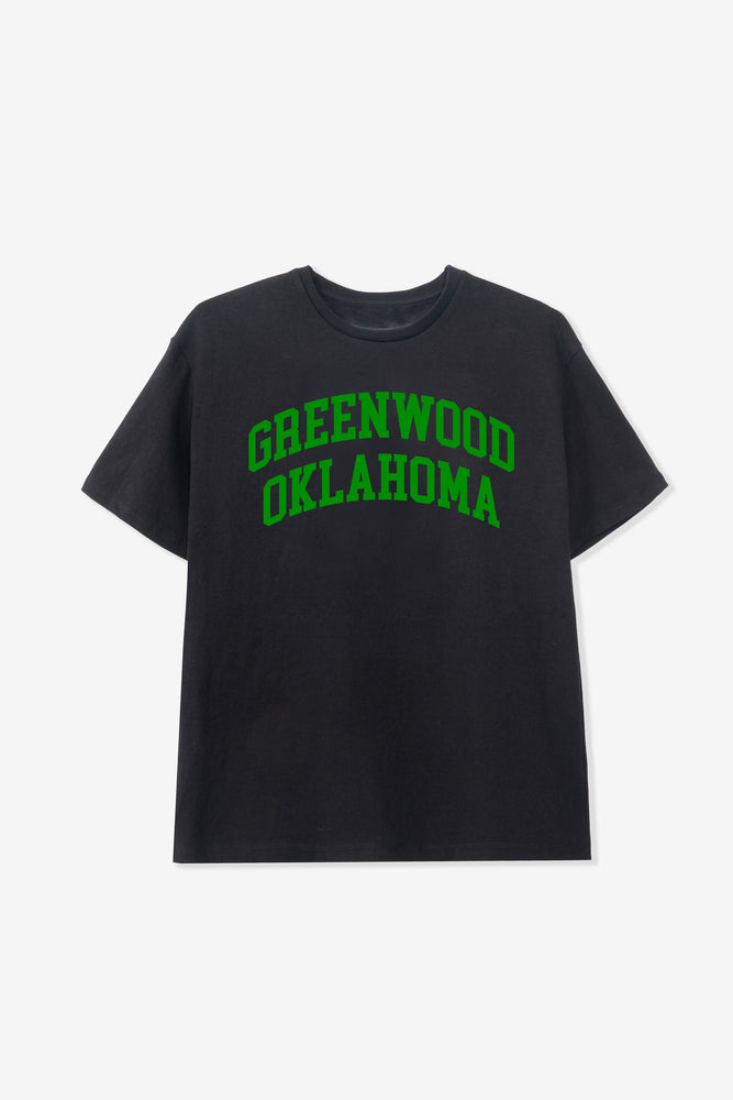 """BUY BLACK"" FRIDAY GREENWOOD TEE BLACK"