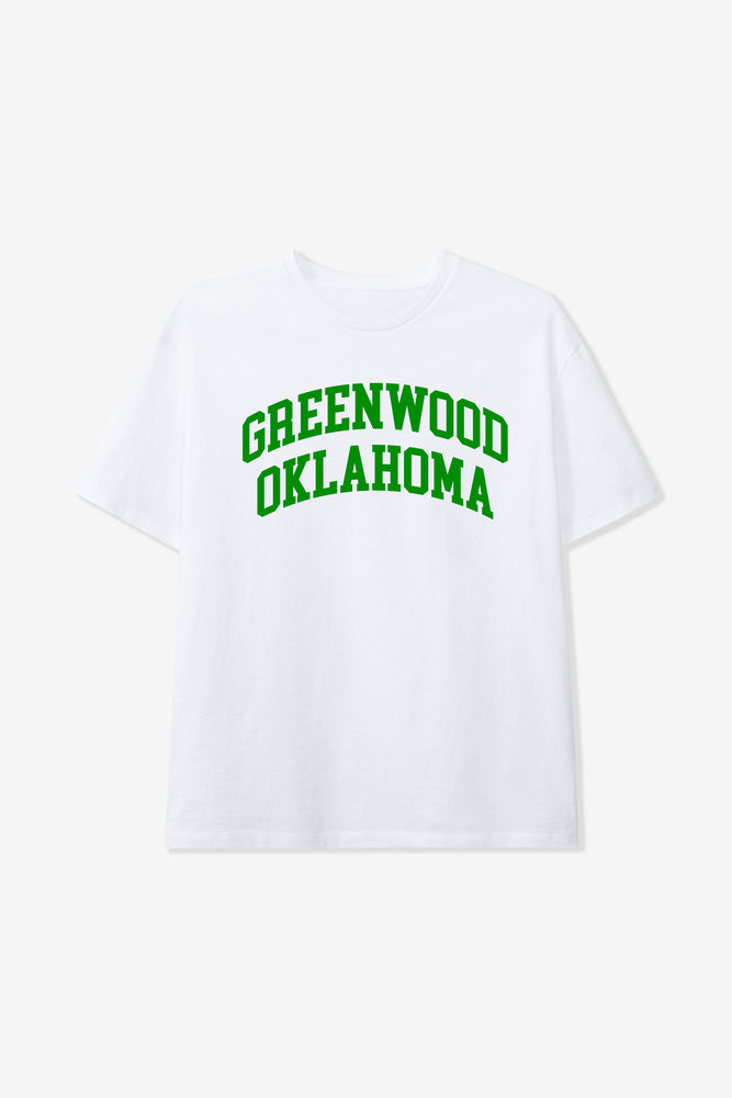 """BUY BLACK"" FRIDAY GREENWOOD TEE WHITE"