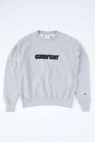 Goodfight by Darlings Bubble Logo Champion Reverse Weave Pullover Sweatshirt