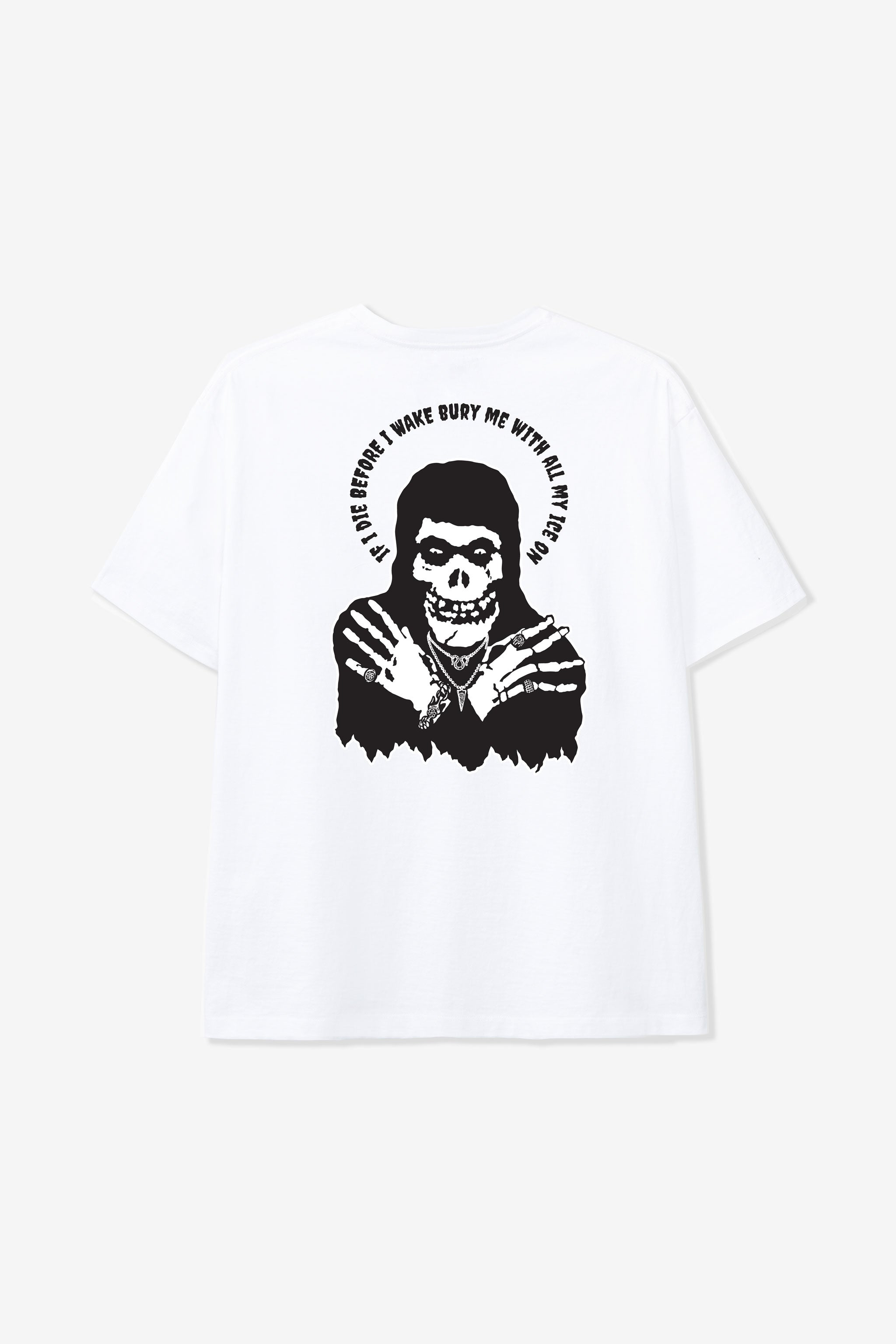 Goodfight x Good Art Hlywd Ice Tee White