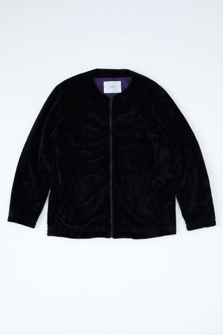 Goodfight Orchid Fuzzy Jacket