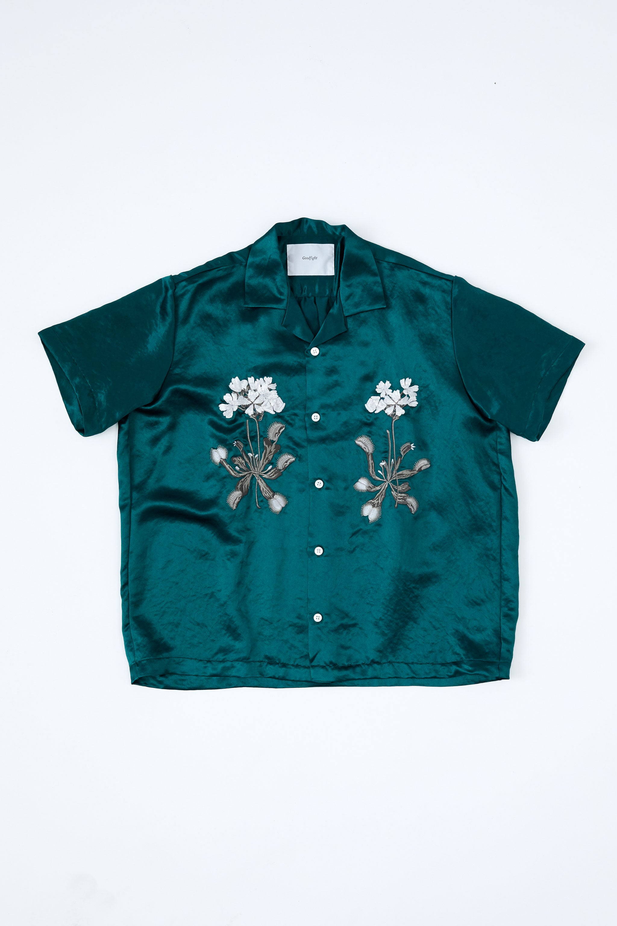 Goodfight Summertone Set Venus Bowler Shirt Green