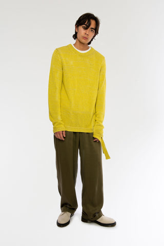 Goodfight SS19 Lyndon Sweater Blonde