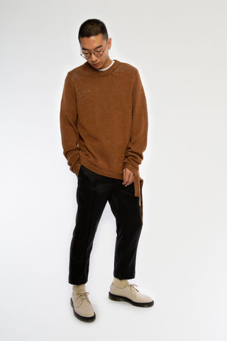 Goodfight SS19 Lyndon Sweater Toast