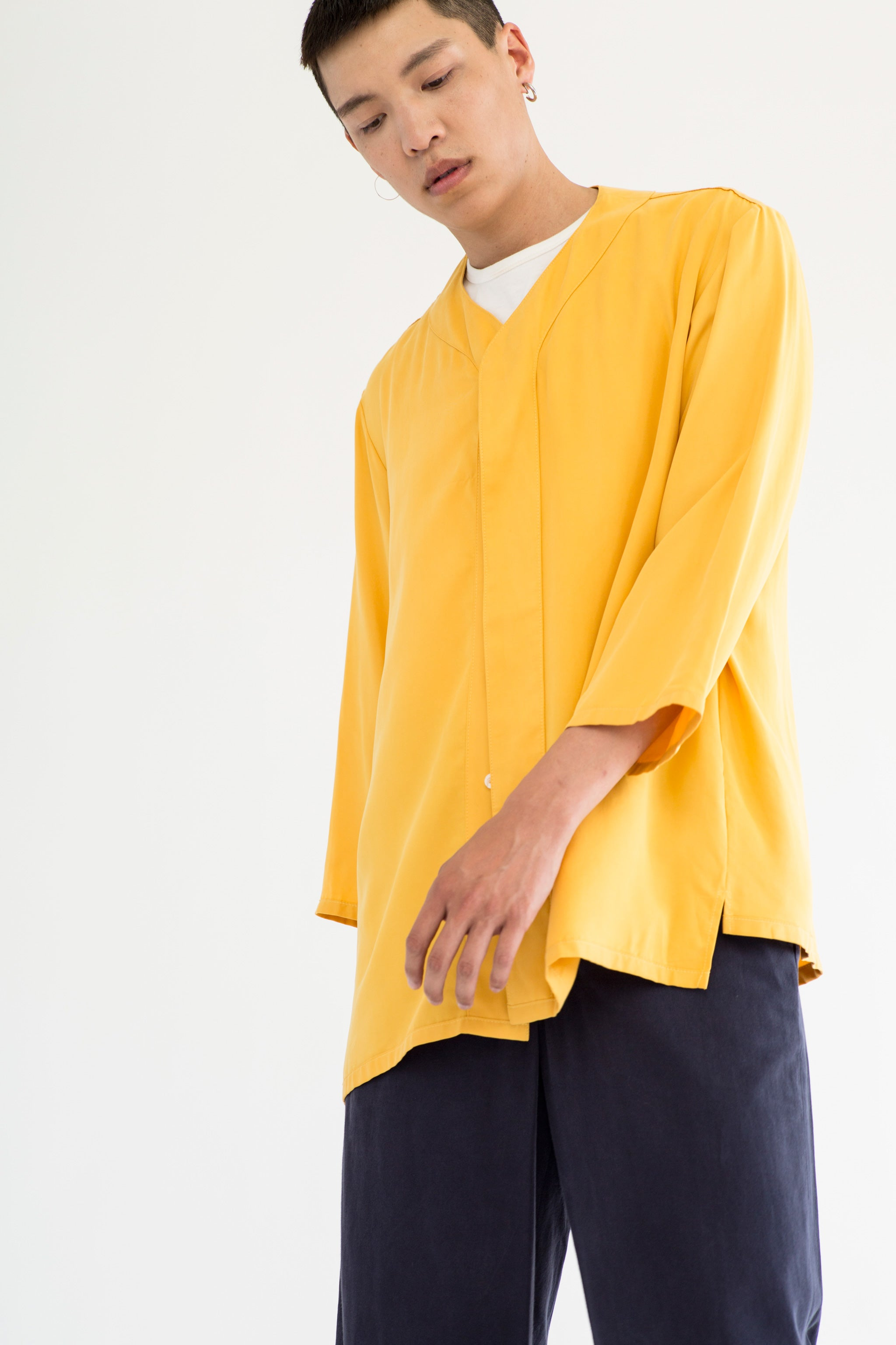 Goodfight Moonshot Baseball Shirt Yellow