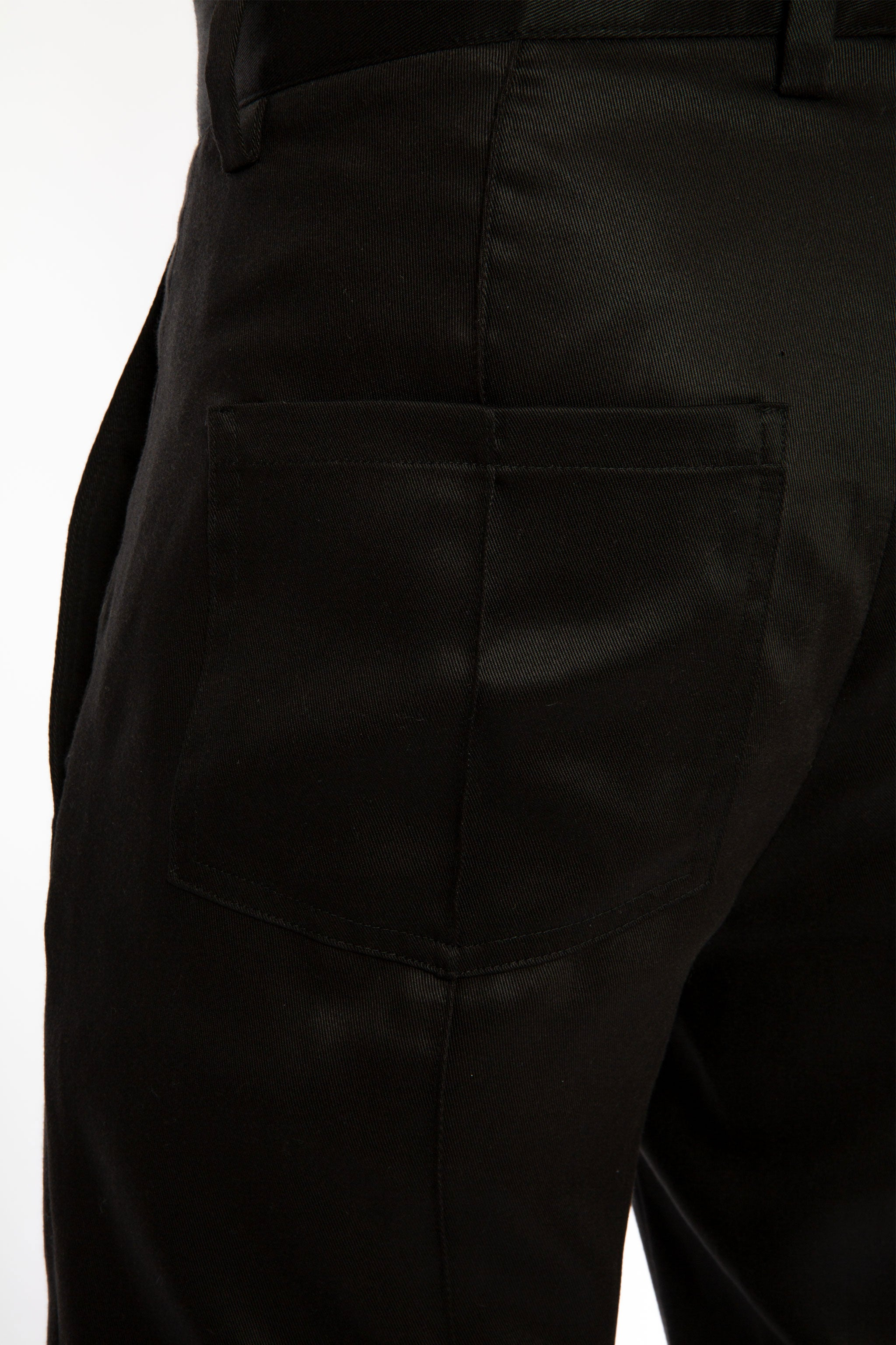 Goodfight SS19 Permapress Trouser Black