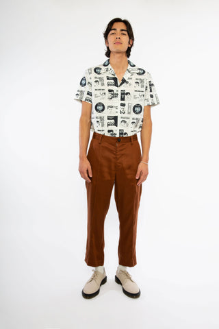 Goodfight SS19 Permapress Trouser Clay