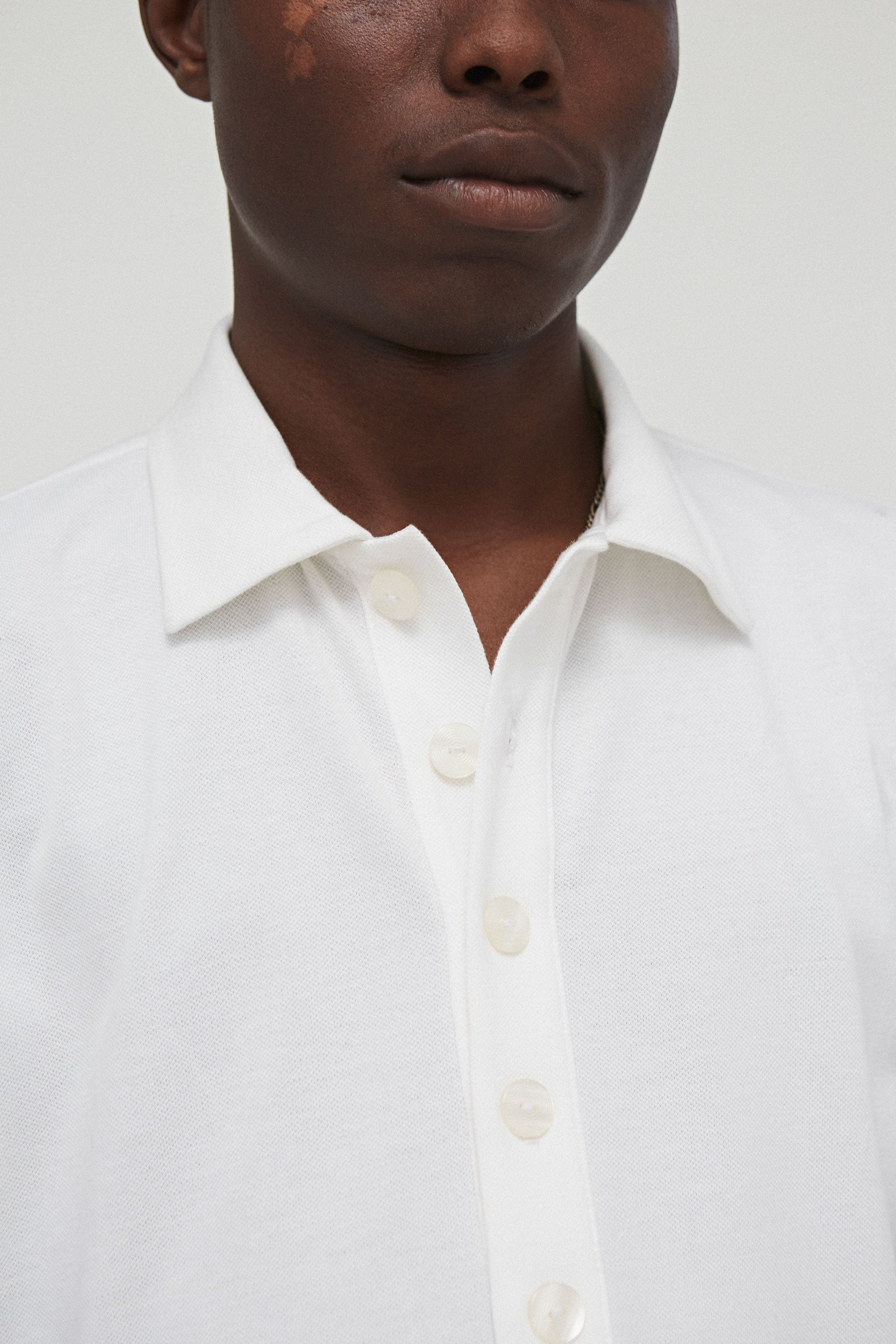 Goodfight FW18 Prep Proper Polo White