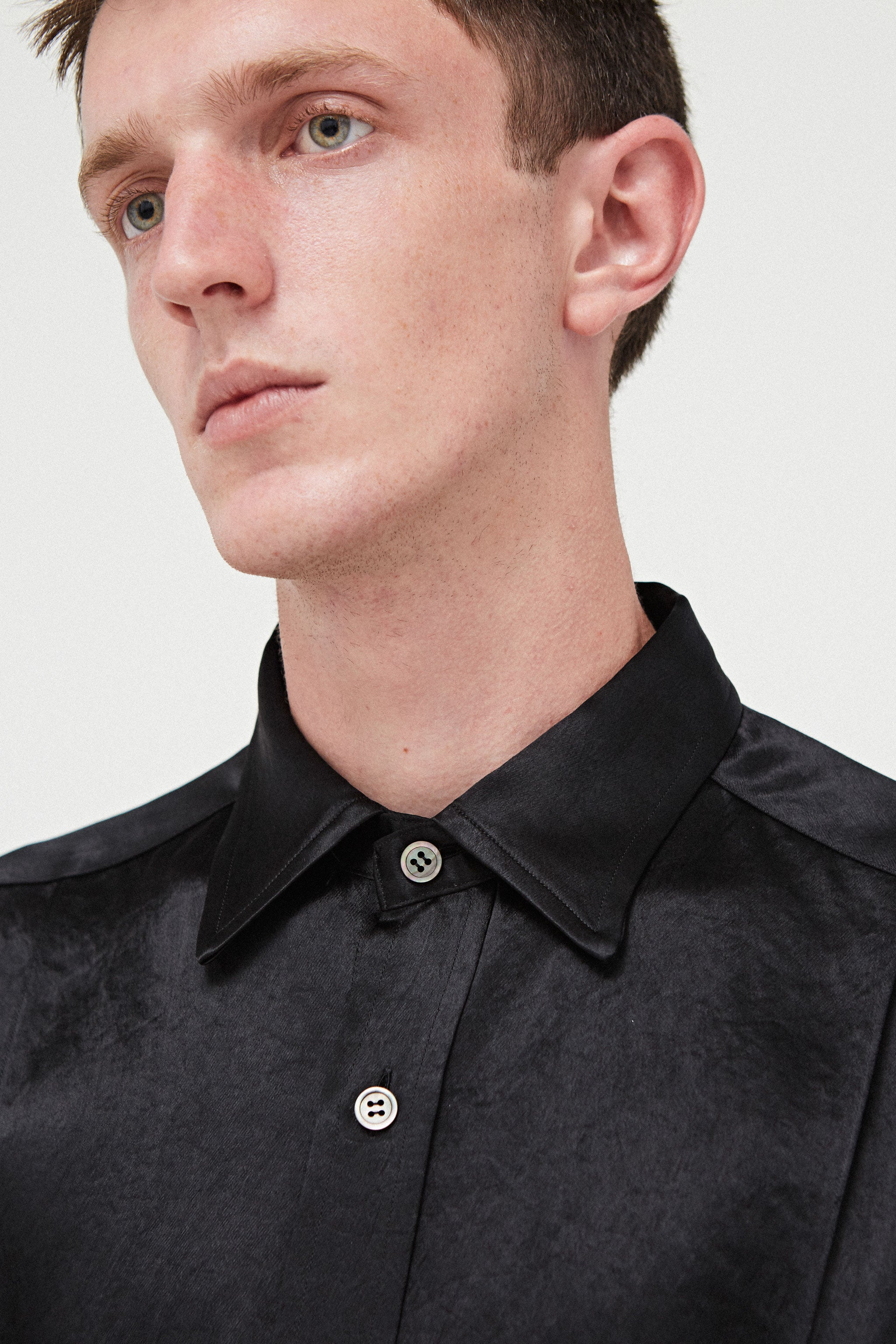 Goodfight Proper Top L/S Button Down Shirt Black