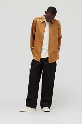 Goodfight Proper Top L/S Button Down Shirt Honey