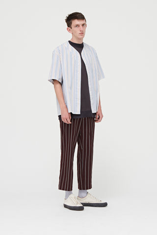 Goodfight FW18 Shortstop S/S Baseball Shirt Thick Stripe