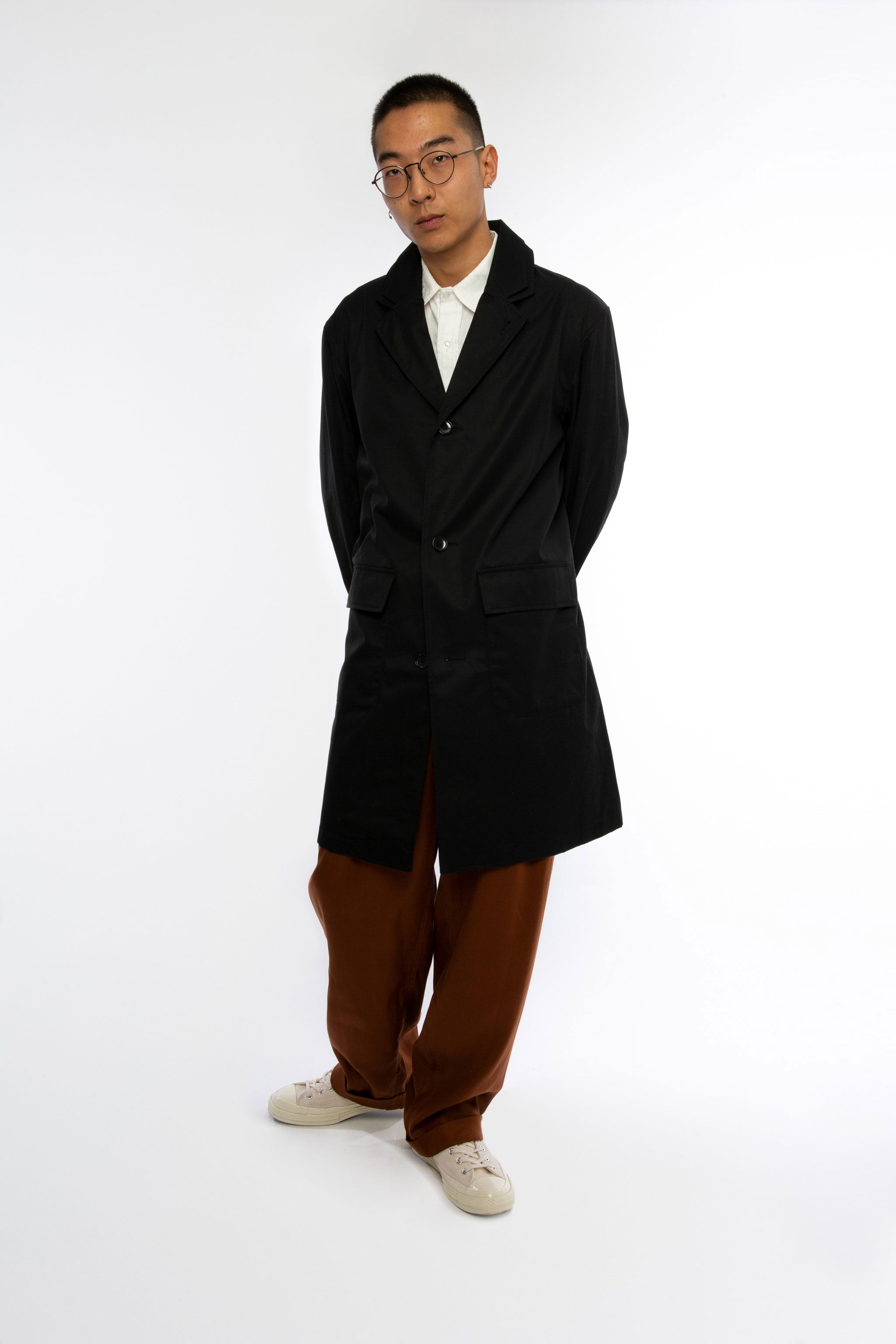 Goodfight SS19 Spring Clean Trench Black