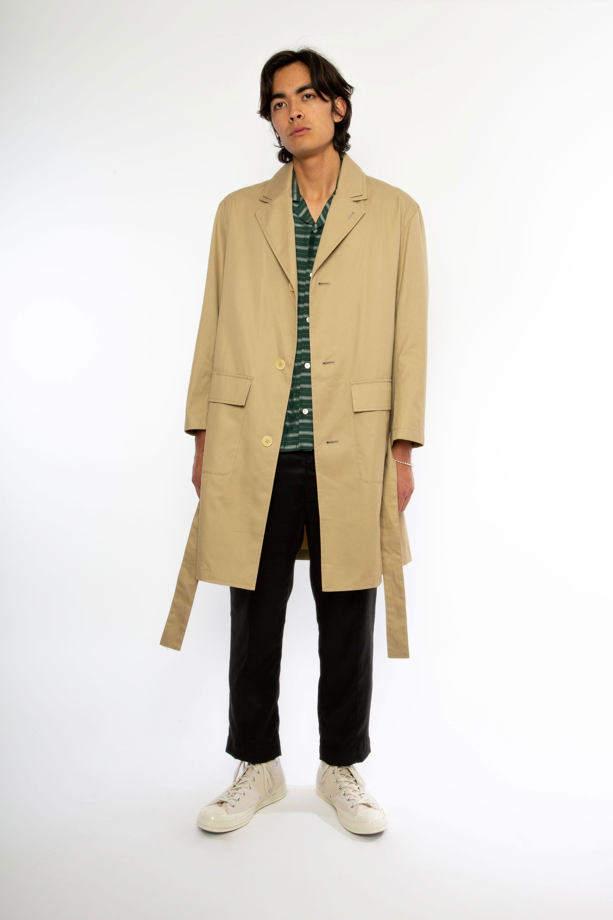 Goodfight SS19 Spring Clean Trench Khaki