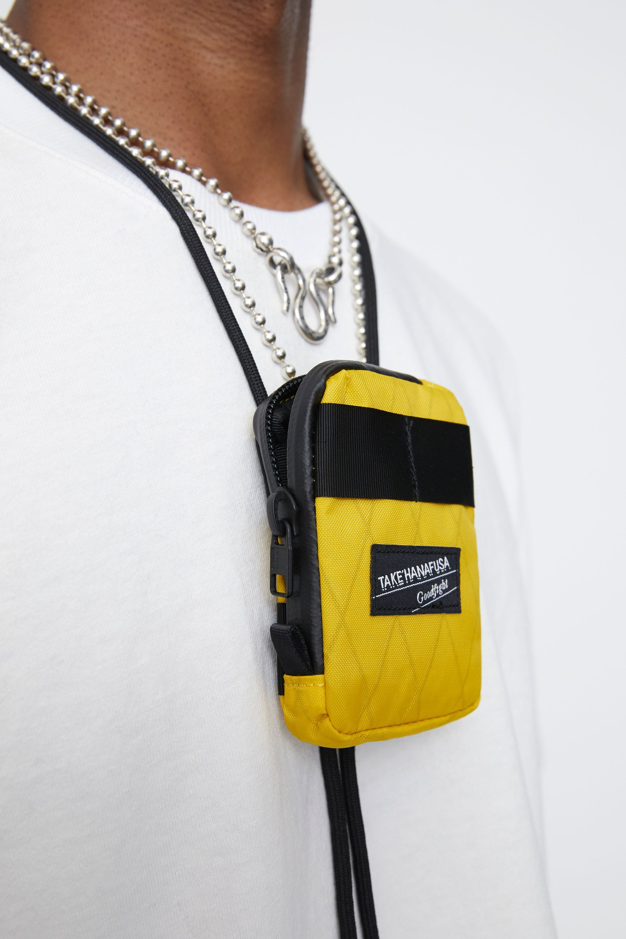 Take Hanafusa X Goodfight Shoo Fly Pouch Mango