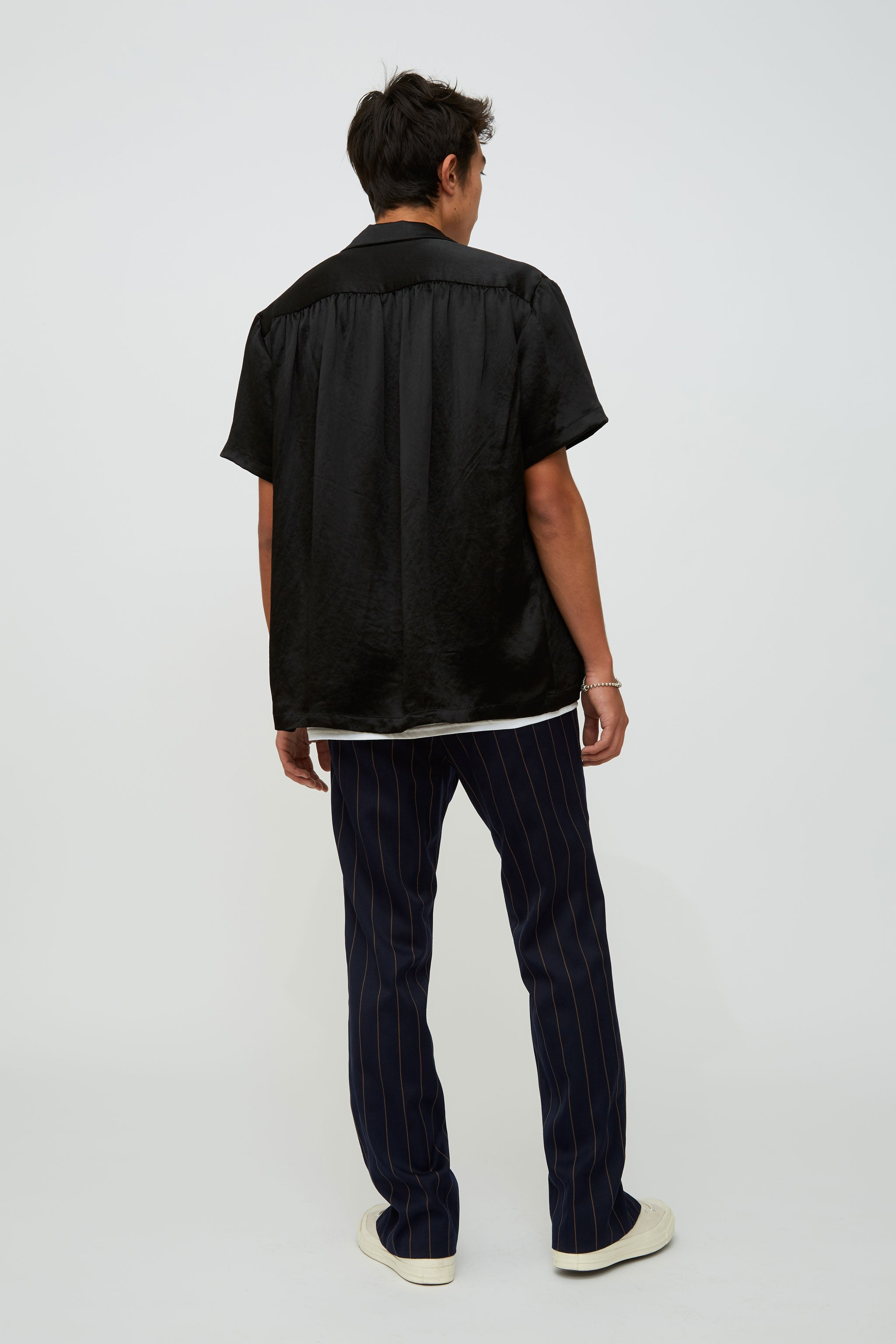 Goodfight FW18 Venus Bowler S/S Button Down Shirt Black