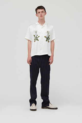 Goodfight FW18 Venus Bowler S/S Button Down Shirt Ivory