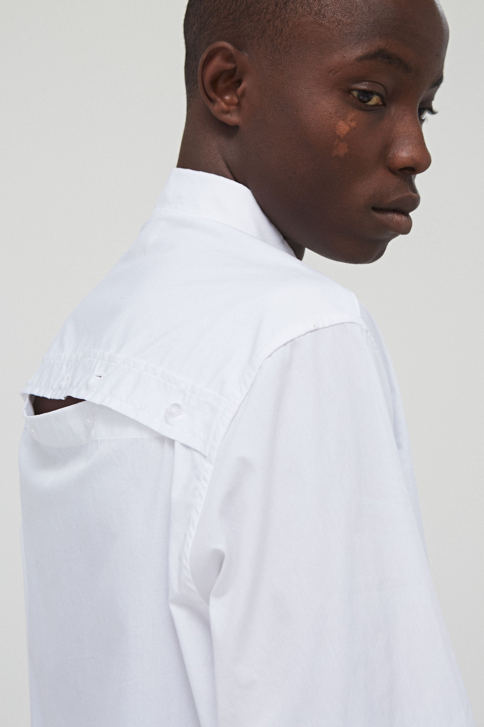 Wayside L/S Button Down Shirt White