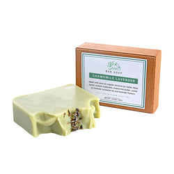 CHAMOMILE LAVENDER VEGAN BAR SOAP