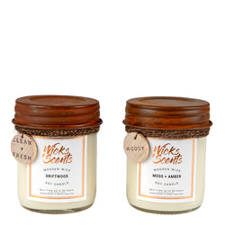 COMPACT CANDLES DUO GIFT SET