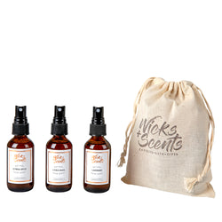 ALL NATURAL ROOM + LINEN SPRAYS - TRIO COLLECTION