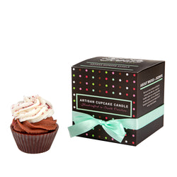 I HEART YOU CUPCAKE CANDLE GIFT SET