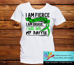 Adrenal Cancer I Am Fierce Strong and Brave Shirts