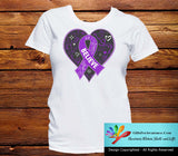 Crohn's Disease Believe Heart Ribbon Shirts - GiftsForAwareness