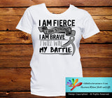 Diabetes I Am Fierce Strong and Brave Shirts - GiftsForAwareness