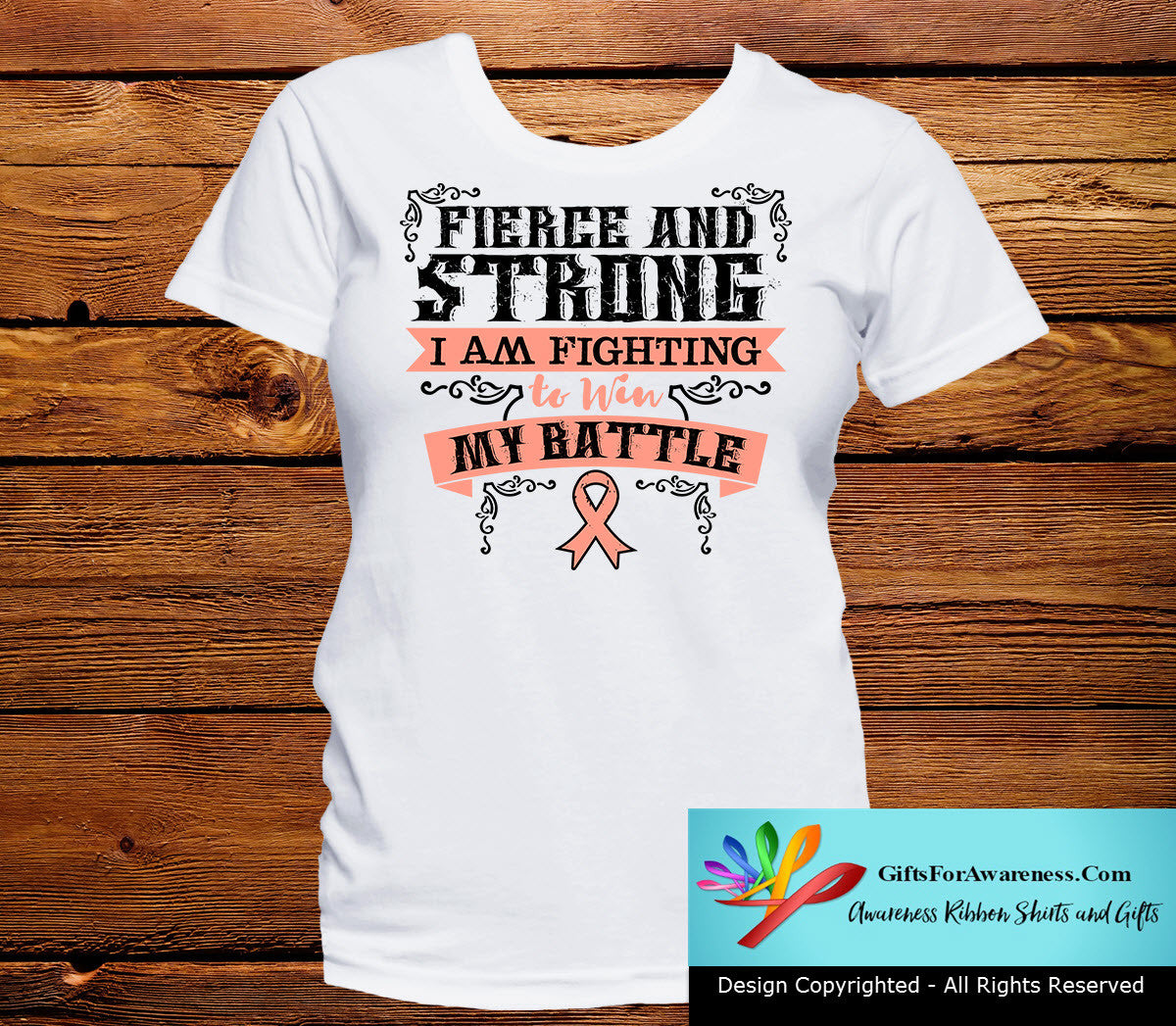 Endometrial Cancer Fierce and Strong I'm Fighting to Win My Battle